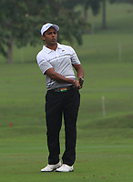 SSP Chawrasia (Asia) on the 1st fairway during the Saturday Foursomes of the Eurasia Cup at Glenmarie Golf and Country Club on the 13th January 2018.<br /> Picture:  Thos Caffrey / www.golffile.ie