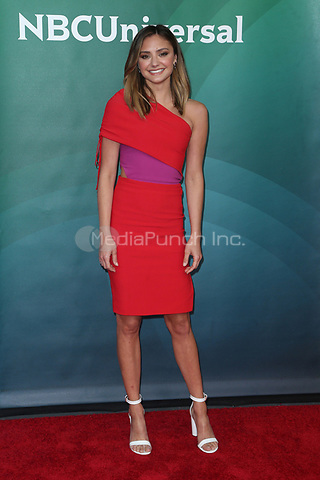 UNIVERSAL CITY, CA - MAY 2: Christine Evangelista at the 2018 NBCUniversal Summer Press Day in Universal City, California on May 2, 2018. Credit: Faye Sadou/MediaPunch