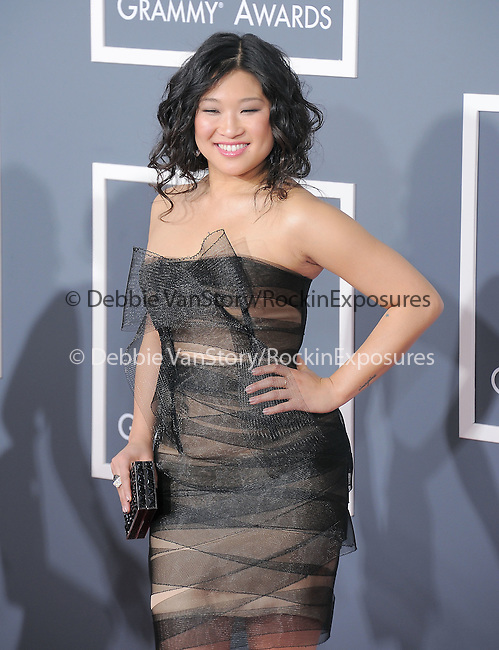 Jenna Ushkowitz attends The 53rd Annual GRAMMY Awards held at The Staples Center in Los Angeles, California on February 13,2011                                                                               © 2010 DVS / Hollywood Press Agency