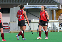 Action from the Wellington Hockey women's open grade premier one match between Hutt United and Kapiti at National Hockey Stadium in Wellington, New Zealand on Saturday, 22 June 2019. Photo: Dave Lintott / lintottphoto.co.nz