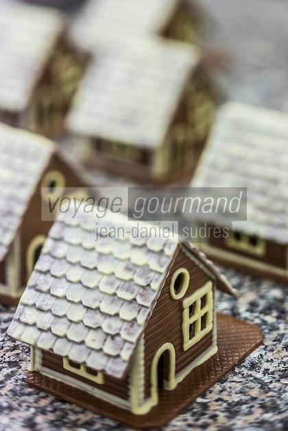 Europe/Allemagne/Bade-Würrtemberg/Forêt Noire/Baiersbronn: Chocolaterie de la Forêt Noire: