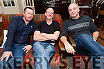 Mark Traynor, Robert Houlahan and Greg Hogan enjoying Other Voices in Dingle over the weekend.