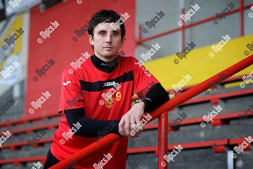 11-11-29 / Voetbal / seizoen 2011-2012 / KV Mechelen / Bjarni Vidarsson werkt nog aan zijn revalidatie...Foto: Mpics
