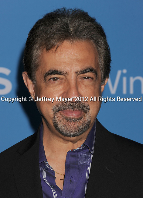 WEST HOLLYWOOD, CA - SEPTEMBER 18: Joe Mantegna arrives at the CBS 2012 fall premiere party at Greystone Manor Supperclub on September 18, 2012 in West Hollywood, California.