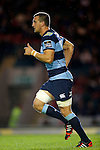 Rugby Union - Leicester Tigers vs Cardiff Blues - pre-season friendly - Welford Road Leicester - 29th August 2014 - Sam Warburton back in action for Cardiff Blues - Picture - Malcolm Couzens/Sportimage