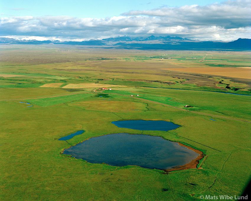 Árbakki séð til austurs, Rangárþing ytra áður Landmannahreppur /  Arbakki viewing east, Rangarthing ytra former Landmannahreppur.