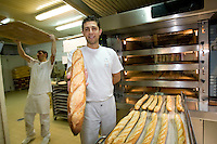 Anis Bouabsa, Winner of the 2008 Best Baguette in Paris Contest