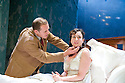 Broken Glass by Arthur Miller,directed by Iqbal Khan .With Nigel Lindsay as Harry Hyman,Lucy Cohu as Sylvia Gellburg Opens at The  Tricycle Theatre  on 6/10/10 Credit Geraint Lewis