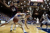 November 28, 2008. Durham, NC.. Duke vs. Duquesne at Cameron Indoor Stadium..Forward Kyle Singler, #12, had 21 points and 7 rebounds in the 95-72 Duke victory in the 95-72 Duke victory.