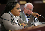 Nevada Assemblywoman Dina Neal, D-North Las Vegas, works in committee on Thursday, May 2, 2013, at the Legislative Building in Carson City, Nev..Photo by Cathleen Allison