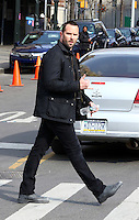 www.acepixs.com<br /> <br /> February 22 2017, New York City<br /> <br /> Actor Sullivan Stapleton was on the set of the TV show 'Blindspot' on February 22 2017 in New York City<br /> <br /> By Line: Zelig Shaul/ACE Pictures<br /> <br /> <br /> ACE Pictures Inc<br /> Tel: 6467670430<br /> Email: info@acepixs.com<br /> www.acepixs.com