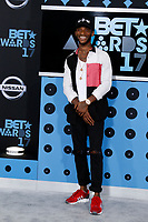 LOS ANGELES - JUN 25:  Angel at the BET Awards 2017 at the Microsoft Theater on June 25, 2017 in Los Angeles, CA