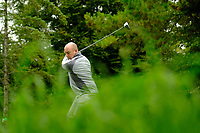 Joe Lyons (Connacht) during final day foursomes at the Interprovincial Championship 2018, Athenry golf club, Galway, Ireland. 31/08/2018.<br /> Picture Fran Caffrey / Golffile.ie<br /> <br /> All photo usage must carry mandatory copyright credit (© Golffile | Fran Caffrey)