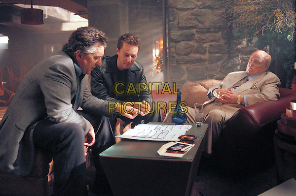 ROBERT DE NIRO, EDWARD NORTON & MARLON BRANDO.in The Score.*Editorial Use Only*.www.capitalpictures.com.sales@capitalpictures.com.Supplied by Capital Pictures.