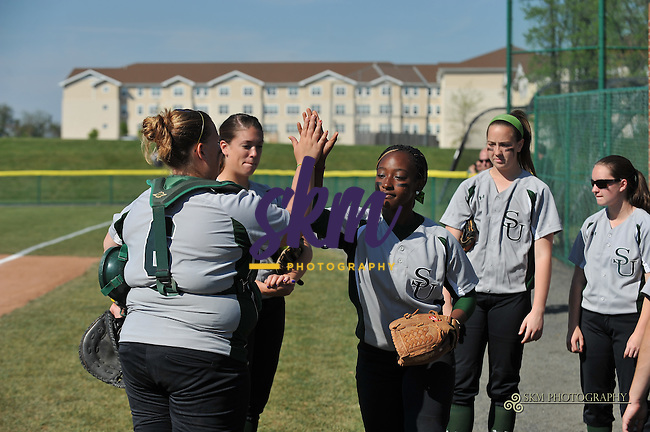 In the second round of CAC playoffs, Stevenson University Mustangs take down the Hood Blazers 9-1 in 4.5 innings.In the second round of CAC playoffs, Stevenson University Mustangs take down the Hood Blazers 9-1 in 4.5 innings.
