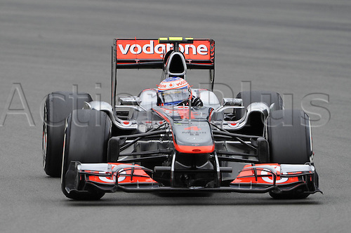 22 07 2011  Formula 1 grand prix  from Germany 2011 Jenson Button McLaren Mercedes   motor racing Formula 1 Nuerburg Nuerburgring