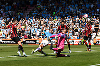 Adam Smith of AFC Bournemouth left misses a great first half chance during AFC Bournemouth vs Manchester City, Premier League Football at the Vitality Stadium on 25th August 2019