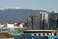 The Olympic Village at the 2010 Winter Games, Vancouver, British Columbia, Canada