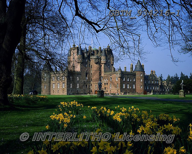 Tom Mackie, LANDSCAPES, LANDSCHAFTEN, PAISAJES, photos,+4x5, 5x4, Britain, castle, chateau, chateaux, daffodil, daffodils, daffs, EU, Europa, Europe, European, flower, flowers, fort+ress, Glamis Castle, Great Britain, heritage, historic, history, horizontal, horizontally,horizontals, large format, royal, r+oyal residence, schloss, Scotland, Scottish, spring, springtime, Tayside Region, tourist attraction, turret, turrets, UK, Uni+ted Kingdom,4x5, 5x4, Britain, castle, chateau, chateaux, daffodil, daffodils, daffs, EU, Europa, Europe, European, flower, f+,GBTM934216-1,#l#