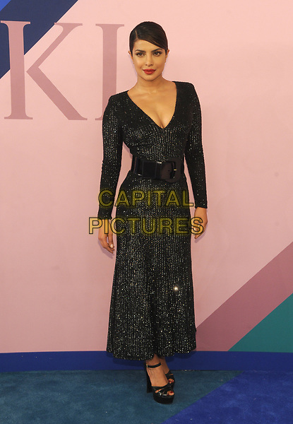 NEW YORK, NY - JUNE 5: Priyanka Chopra at the 2017 CFDA Fashion Awards at The Hammerstein Ballroom in New York City on June 5, 2017. <br /> CAP/MPI/JP<br /> &copy;JP/MPI/Capital Pictures