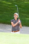 DEN DOLDER - Caroline Karsten tijdens het NK Strokeplay golf op Golfsocieteit  De Lage Vuursche. COPYRIGHT KOEN SUYK