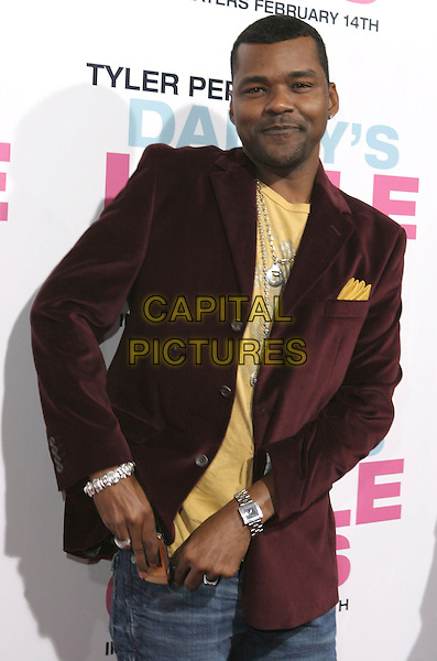 "GARY STURGIS.""Daddy's Little Girls"" Los Angeles Premiere held at the Cinerama Dome, Hollywood, California, USA..February 7th, 2007.half length brown suit jacket.CAP/ADM/CH.©Charles Harris/AdMedia/Capital Pictures"