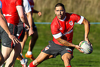 Picture by Alex Whitehead/SWpix.com - 30/10/2013 - Rugby League - Rugby League World Cup - England Training - Loughborough, England - Rangi Chase.