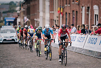 Thomas de Gendt (BEL/Lotto-Soudal) at the front<br /> <br /> Belgian National Championships 2018 (road) in Binche (224km)<br /> ©kramon