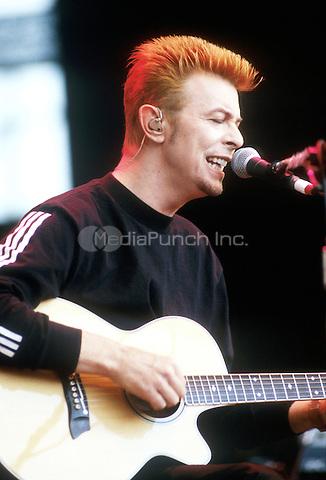 David Bowie  October 20, 1996. Credit: Jay Blakesberg/MediaPunch