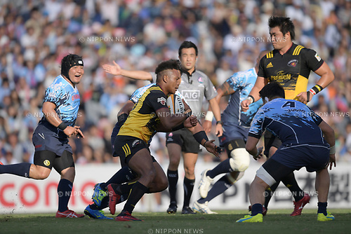 Kotaro Matsushima (), SEPTEMBER 2, 2017 - Rugby : Japan Rugby Top League 2017-2018 match between Suntory Sungoliath 27-24 Yamaha Jubilo at Prince Chichibu Memorial Stadium in Tokyo, Japan. (Photo by FAR EAST PRESS/AFLO)