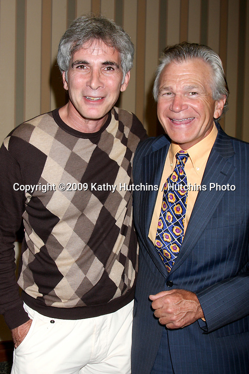 james Michael Gregory & David Leisure at The Young & the Restless Fan Club Dinner  at the Sheraton Universal Hotel in  Los Angeles, CA on August 28, 2009.©2009 Kathy Hutchins / Hutchins Photo.