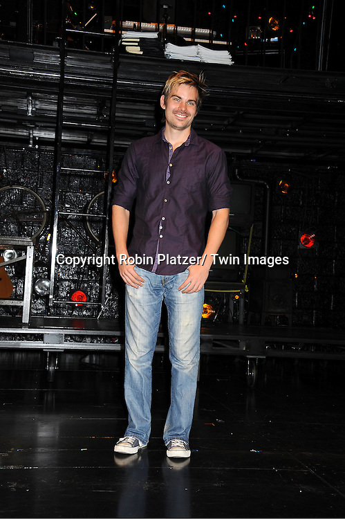 """actor Matt Shingledecker attending the photo call for the new production of """"Rent"""" ..on August 1, 2011 at The New World Stages in New York City."""