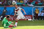 Mesut Oezil (GER), <br /> JUNE 16, 2014 - Football /Soccer : <br /> 2014 FIFA World Cup Brazil <br /> Group Match -Group G- <br /> between  Germany 4-0 Portugal <br /> at Arena Fonte Nova, Salvador, Brazil. <br /> (Photo by YUTAKA/AFLO SPORT)