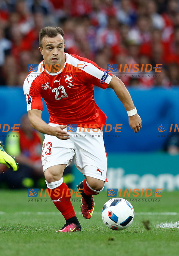 Xerdan Shaqiri Switzerland<br /> Lille 19-06-2016 Stade Pierre Mauroy Footballl Euro2016 Switzerland - France  / Svizzera - Francia Group Stage Group A. Foto Matteo Ciambelli / Insidefoto