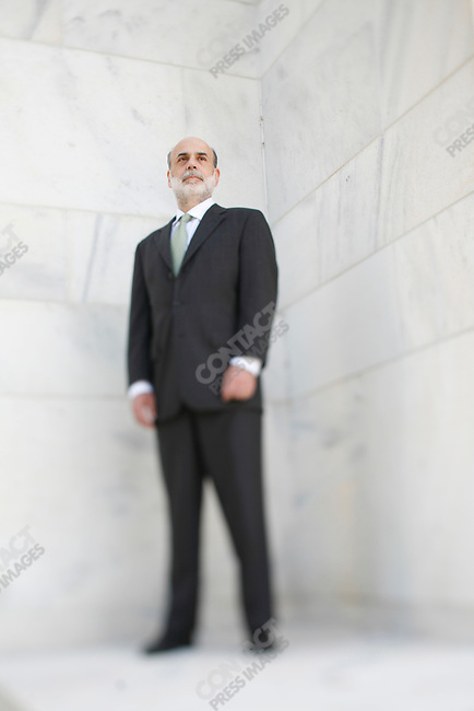 Ben Bernanke, Chairman of the Federal Reserve Bank at the FED headquarters, Washington, DC, USA, September 22, 2008