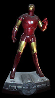 BNPS.co.uk (01202 558833)<br /> AdamPartridge/BNPS<br /> <br /> A statue of Iron Man<br /> <br /> A vast collection of 'weird and wonderful' memorabilia from a music venue that hosted early Beatles gigs has emerged for sale for close to £50,000.<br /> <br /> Lathom Hall in Liverpool was one of the best known clubs on the Merseybeat music scene in the late 1950s and early 1960s.<br /> <br /> Among their regular bands were the Beatles, although at that time they were known as the Silver Beets.<br /> <br /> Since those days the hall has adapted and is now an entertainment venue crammed full of pop culture memorabilia.