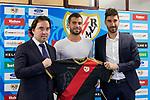 Jordi Amat during his official presentation at Vallecas Stadium in Madrid, Spain. August 24, 2018. (ALTERPHOTOS/A. Perez Meca)