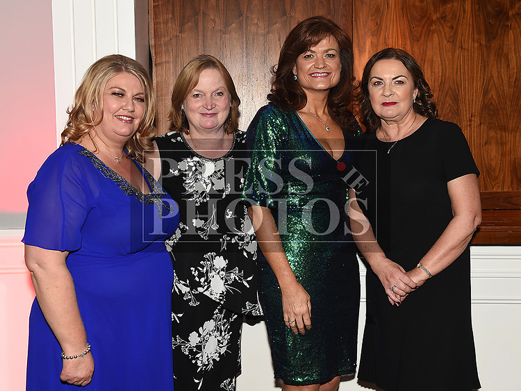 Aoife Dawe, Catherina Branigan, Linda Cross and Peatrice Killorn at the Coca Cola Christmas party in the Westcourt hotel.  Photo:Colin Bell/pressphotos.ie