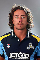 PICTURE BY VAUGHN RIDLEY/SWPIX.COM - Cricket - County Championship Div 2 - Yorkshire County Cricket Club 2012 Media Day - Headingley, Leeds, England - 29/03/12 - Yorkshire's Ryan Sidebottom.