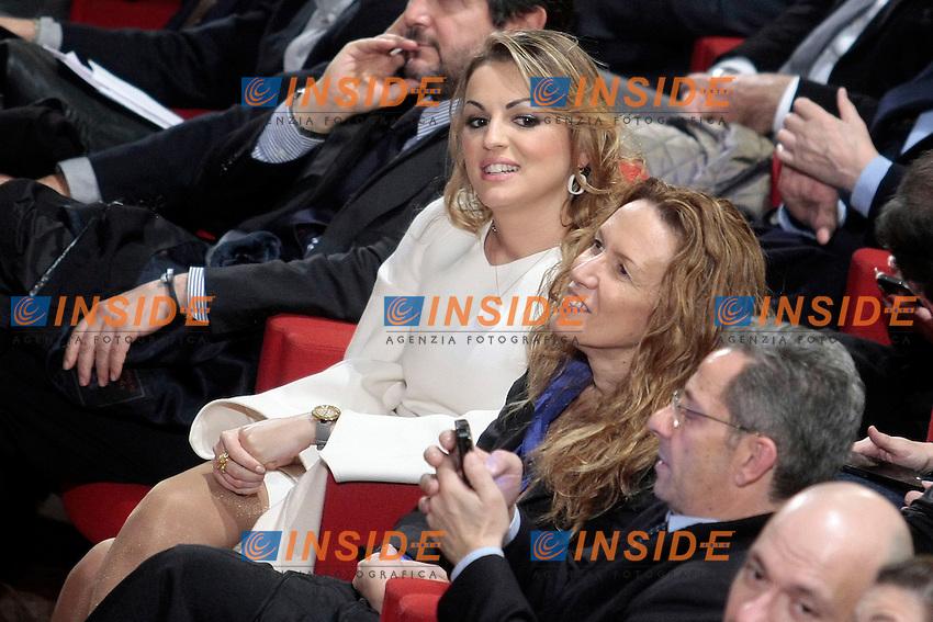 Francesca Pascale<br /> Roma 08/12/2013 Auditorium della Tecnica. Manifestazione dei Club Forza Silvio.<br /> Convention of Clubs Forza Silvio.<br /> Photo Samantha Zucchi Insidefoto