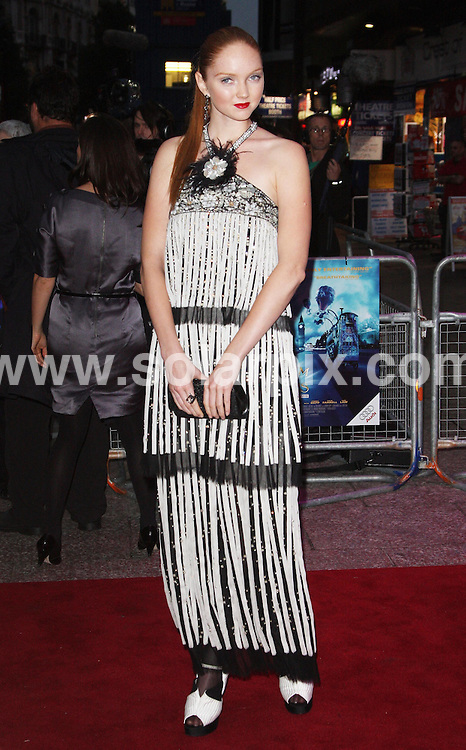 "**ALL ROUND PICTURES FROM SOLARPIX.COM**.**WORLDWIDE SYNDICATION RIGHTS**.The UK Premiere of ""The Imaginarium of Doctor Parnassus"" at the Empire Cinema in Leicester Square, London on Tuesday 6 October 2009.This pic: Lily Cole.JOB REF:  10074   LNJ     DATE:  07.10.09.**MUST CREDIT SOLARPIX.COM OR DOUBLE FEE WILL BE CHARGED**.**MUST NOTIFY SOLARPIX OF ONLINE USAGE**.**CALL US ON: +34 952 811 768 or LOW RATE FROM UK 0844 617 7637**"