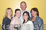 Pictured at the Salsa Party in the Brandon Hotel on Saturday Night were Yalguketa Haqueska, Catherine Baily, Garry Nunan, Maria Segade and Marie Porter.