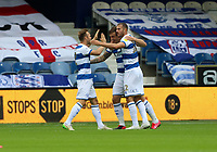Queens Park Rangers celebrates during Queens Park Rangers vs Fulham, Sky Bet EFL Championship Football at the Kiyan Prince Foundation Stadium on 30th June 2020