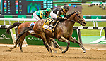 ELMONT, NY - JUNE 09: Still Having Fun  #6, ridden by Joel Rosario, wins the Woody Stephens Stakes on Belmont Stakes Day at Belmont Park on June 9, 2018 in Elmont, New York. (Photo by Sue Kawczynski/Eclipse Sportswire/Getty Images)