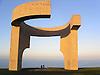 Sculpture &quot;Elogio del Horizonte&quot; (1990, concrete, 10 m) by the famous basque artist Eduardo Chillida (1924-2002 San Sebastian) in Atalaya Park<br /> <br /> Escultura &quot;Elogio del Horizonte&quot; (1990, hormig&oacute;n armado, 10 m) por el famoso artista vasco Eduardo Chillida (1924-2002 San Sebasti&aacute;n - vas. Donostia) en el Parque de La Atalaya, Cerro Santa Catalina, Cimadevilla<br /> <br /> Skulptur &quot;Elogio del Horizonte&quot; (Lob des Horizonts) (1990, Beton, 10 m) von dem ber&uuml;hmten baskischen K&uuml;nstler Eduardo Chillida (1924-2002 San Sebasti&aacute;n), Atalaya Park<br /> <br /> 2272 x 1704 px<br /> 150 dpi: 38,47 x 28,85 cm<br /> 300 dpi: 19,24 x 14,43 cm