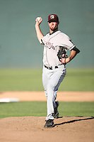 July 14, 2008: Jake Wild (23) of the Wisconsin Timber Rattlers at Memorial Stadium in Fort Wayne, IN.  Photo by:  Chris Proctor/Four Seam Images