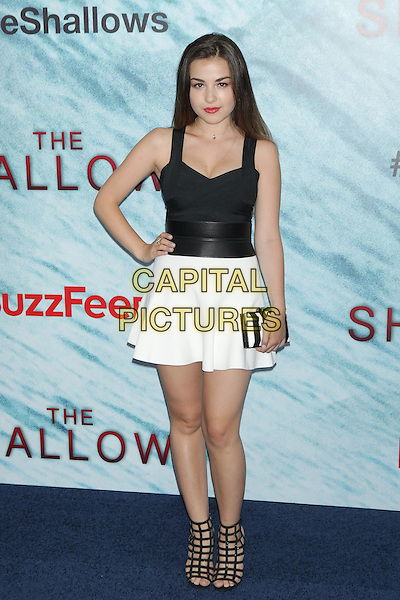 NEW YORK, NY - JUNE 21: Esther Zynn attends  'The Shallows' World Premiere at AMC Lincoln Square on June 21, 2016 in New York City. <br /> CAP/MPI99<br /> &copy;MPI99/Capital Pictures