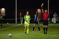 Kansas City, MO - Saturday June 17, 2017: Carson Pickett, Farhad Dadkho during a regular season National Women's Soccer League (NWSL) match between FC Kansas City and the Seattle Reign FC at Children's Mercy Victory Field.