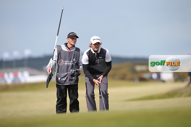 Eddie Pepperell (ENG) completes his final round of the 2015 Dubai Duty Free Irish Open Hosted by The Rory Foundation at Royal County Down Golf Club, Newcastle County Down, Northern Ireland. 30/05/2015. Picture David Lloyd | www.golffile.ie