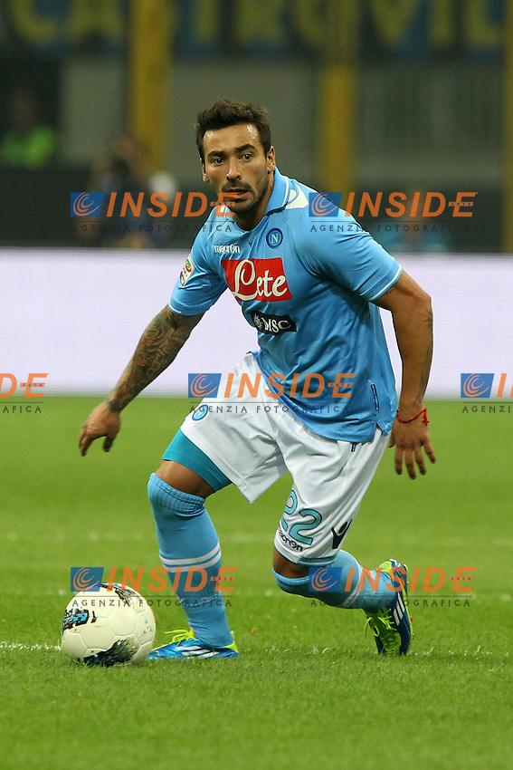 """Ezequiel Lavezzi Napoli.Milano 01/10/2011 Stadio """"S.Siro"""".Football / Calcio Serie A 2011/2012.Inter vs Napoli.Foto Paolo Nucci Insidefoto"""